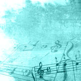 Strutture ed ambiti di provenienza di melodia di Grunge Immagine Stock