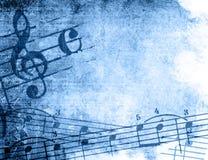 Strutture ed ambiti di provenienza di melodia di Grunge Immagini Stock