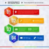 Strutture graduali per il vostro infographics illustrazione di stock