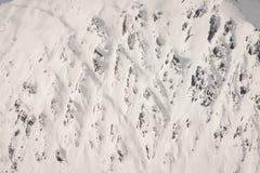 Strutture nella montagna Fotografia Stock Libera da Diritti