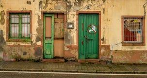 Strutture su una vecchia parete fotografia stock libera da diritti