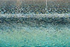 Strutture variopinte su acqua Fotografie Stock Libere da Diritti