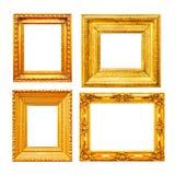Strutture vuote della pittura dell'oro Immagine Stock Libera da Diritti