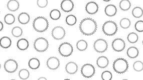 Strutturi il modello senza cuciture dei cappucci della birra del metallo scolpiti estratto rotondo nero con gli spigoli per le bo illustrazione vettoriale