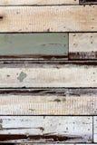 Strutturi il vecchio pezzo della pittura di legno per murare Immagini Stock