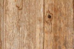 Strutturi la vecchia plancia con la vecchi pittura e nodo dell'abrasione Fotografia Stock