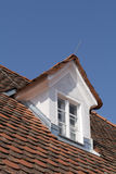 strychowy okno Zdjęcia Royalty Free