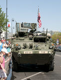 Stryker Light Armored Vehicle Royalty Free Stock Photography