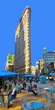 Strykjärn i New York Fotografering för Bildbyråer