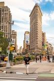 Strykjärn som bygger NYC Royaltyfri Bild