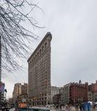 Strykjärnbyggnad, New York City royaltyfri foto