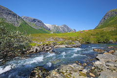 Stryn in Norway Stock Photos