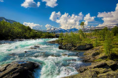 Stryn in Norway Stock Images