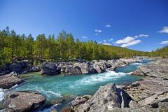 Stryn in Norwegen Stockbild