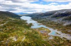 Strynefjellet Noruega fotos de archivo