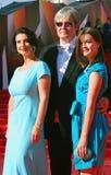 Stryzhenovy på Moskvafilmfestivalen Royaltyfri Fotografi