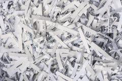 strzępiący zbliżenie papier obrazy stock