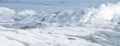 Strzępiasty lód zdjęcie royalty free