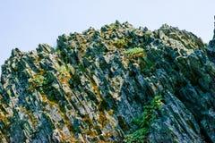 Strzępiasty Rockowy Outcro obraz stock
