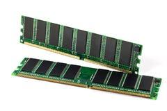 Strzał dwa DDR RAM kija Obraz Royalty Free