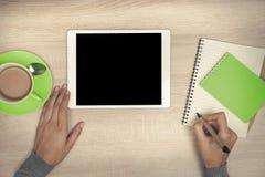 strzała mogą target758_0_ cieszą się jeżeli warstwy potrzeby komputer osobisty oddzielny tablet one ty Fotografia Royalty Free