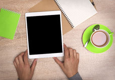 strzała mogą target758_0_ cieszą się jeżeli warstwy potrzeby komputer osobisty oddzielny tablet one ty Zdjęcia Stock