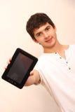 strzała mogą target758_0_ cieszą się jeżeli warstwy potrzeby komputer osobisty oddzielny tablet one ty Obrazy Stock