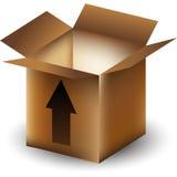 strzała pudełko Zdjęcia Stock