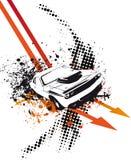 strzała samochód ilustracji
