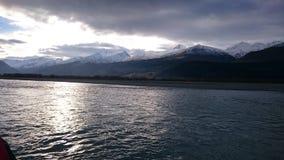 Strzałka jeziorny zadziwiający krajobraz Fotografia Stock