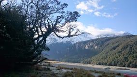 Strzałka jeziorny zadziwiający krajobraz Obraz Royalty Free