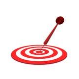 Strzałki Ciupnięcia Cel Zdjęcie Stock
