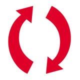 Strzałkowaty symbol Obrazy Royalty Free