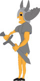 strzały miecz sztuki ciała studio wojownik Zdjęcie Stock