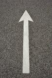 strzała asfalt Obrazy Stock