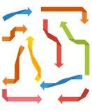 strzała inkasowy koloru ilustraci wektor Zdjęcie Royalty Free