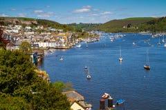 strzałki Dartmouth Devon rzeka Obrazy Royalty Free