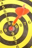 strzałki tarczy do lotek Fotografia Stock