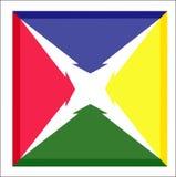 Strzałkowata ikona Obrazy Royalty Free