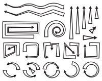 Strzałkowata wektorowa ikona royalty ilustracja