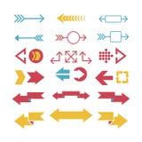 Strzałkowata sieci ikony wektoru ilustracja Obrazy Royalty Free