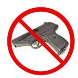strzela nie Obraz Royalty Free