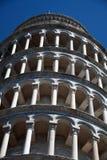 Strzelać od dna Oparty wierza Pisa b Obrazy Royalty Free