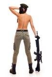 strzela seksownej kobiety zdjęcia stock