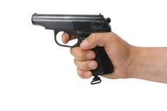 strzelają ręce pistolet Obraz Royalty Free