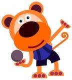 Strzelająca stawiająca małpa Obraz Royalty Free