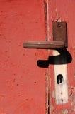 strzelająca strzelać zamknięta drzwiowa rękojeść Zdjęcia Stock