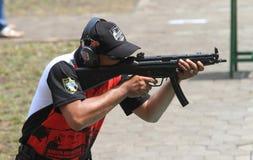 strzelający Fotografia Stock