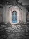 Strzelający Cava Santa głównego budynku drzwi zdjęcie stock
