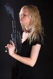 strzelający pomyślny Fotografia Stock